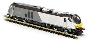 Dapol N 2D-022-003 Class 68 'Oxford Flier' 68010 Chiltern Railways