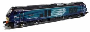 Dapol N 2D-022-007 Class 68 'Evolution' 68001 DRS