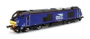 Dapol N 2D-022-010 Class 68 68026 DRS Plain Blue
