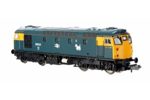 Dapol N 2D-028-003 Class 26 26024 BR Blue FYE Scottie Dog