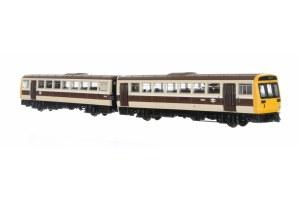 Dapol N 2D-142-003 Class 142 Mock Great Western Choc & Cream  142022