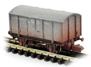 Dapol N 2F-013-052 Gunpowder Van LMS 299039 Weathered