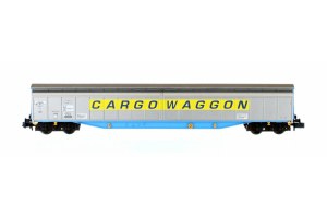 Dapol N 2F-022-005 Ferry Wagon Cargowaggon 33 80 279 7516-2 Yellow Stripe