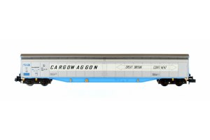 Dapol N 2F-022-007 Ferry Wagon Cargowaggon 33 80 279 7586-4P White Stripe