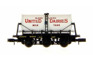 Dapol N 2F-031-015 6 Wheel Milk Tanker United Dairies