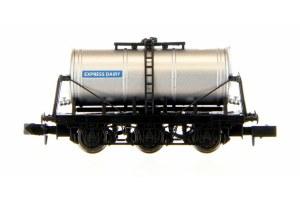 Dapol N 2F-031-017 6 Wheel Milk Tanker Express Dairy (Silver)