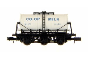 Dapol N 2F-031-018 6 Wheel Milk Tanker Co-op London