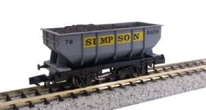 Dapol N 2F-034-033 21T Hopper Simpson 73