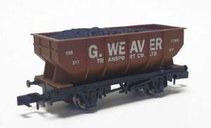 Dapol N 2F-034-065 21T Hopper G Weaver Bauxite 158