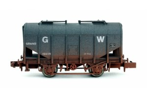 Dapol N 2F-036-024 Bulk Grain Hopper GWR 42315 Weathered