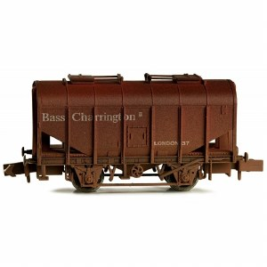 Dapol N 2F-036-032 Bulk Grain Hopper Bass Charrington 37 Weathered