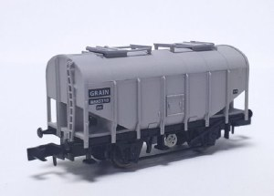 Dapol N 2F-036-041 Bulk Grain Hopper BR Grey B885310