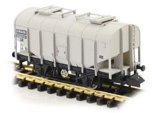 Dapol N 2F-036-043 Bulk Grain Hopper BR Grey B885330
