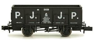 Dapol N 2F-038-019 20T (21T glw) Steel Mineral Wagon PJ & JP