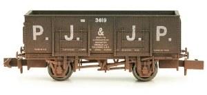 Dapol N 2F-038-020 20T (21T glw) Steel Mineral Wagon PJ & JP Weathered