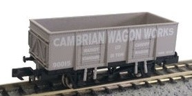 Dapol N 2F-038-023 20T Steel Mineral Cambrian Wagon Works