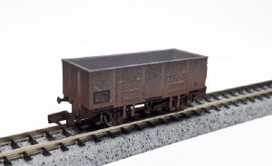 Dapol N 2F-038-050 20T Steel Mineral BR 315750 Weathered