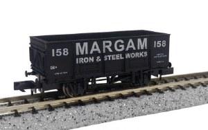 Dapol N 2F-038-051 20t Steel Mineral Wagon Margam 158