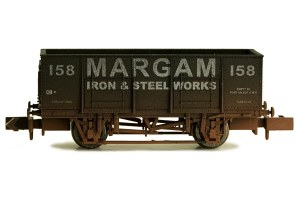Dapol N 2F-038-052 20T Steel Mineral  Margam 158 Weathered