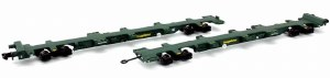 Dapol N 2F-044-002 FEAB Spine Wagon Twin Pack N Freightliner 640721 + 640722