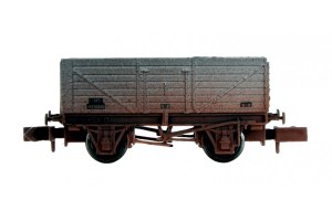 Dapol N 2F-071-049 7 Plank BR Grey P238840 Weathered
