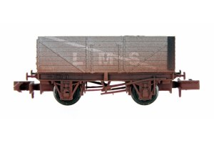 Dapol N 2F-071-053 7 Plank LMS Grey 302087 Weathered