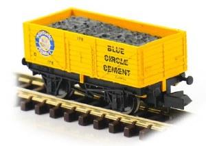 Dapol N 2F-071-054 7 Plank Blue Circle Cement 178
