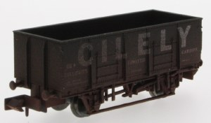 Dapol N 2F-038-012 20T Steel Mineral Wagon Cilely Weathered