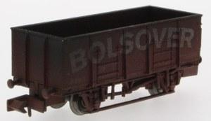 Dapol N 2F-038-014 20T Steel Mineral Wagon Bolsover Weathered
