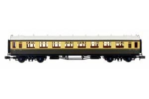 Dapol N 2P-000-080 Collett Coach BR Choc/Cream Composite W7019