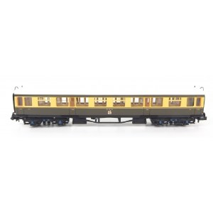 Dapol N 2P-000-159 Collett Coach GWR Crest Chocolate & Cream 3rd 1088