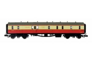 Dapol N 2P-000-330 Collett Coach BR Crimson & Cream Full Brake W196