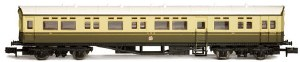 Dapol N 2P-004-009 Autocoach GWR over Twin Cities Chocolate & Cream 188