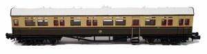 Dapol N 2P-004-010 Autocoach GWR Shirtbutton Chocolate & Cream 196