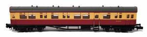 Dapol N 2P-004-012 Autocoach BR Carmine & Cream W189W no insignia