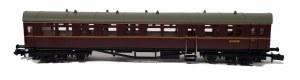 Dapol N 2P-004-013 Autocoach BR Maroon W194W no insignia