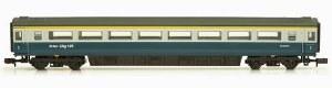 Dapol N 2P-005-021 Mk3 Blue Grey 1st Class No E42127 HST Hauled without Buffers