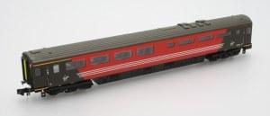 Dapol N 2P-005-411 Mk3 Coach Virgin Buffet No 10211 Locomotive Hauled with Buffers