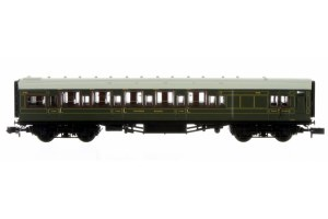 Dapol N 2P-014-020 Maunsell High Window BTK Coach Lined Olive Green 3730