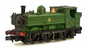 Dapol N 2S-007-011 57xx Class Pannier Tank 0-6-0PT 6746 GWR Green Shirt Button