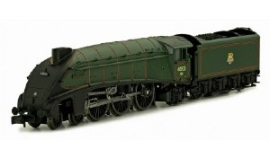 Dapol N 2S-008-007 A4 Class 4-6-2 60033 Seagull BR Lined Green Early Emblem