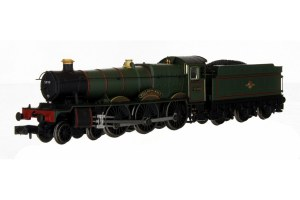 Dapol N 2S-010-006 Hall - Woolerton Hall BR Lined Green Late Crest 5999