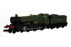 Dapol N 2S-010-007D Hall - Sketty Hall Great Western Lined Green 4970 DCC