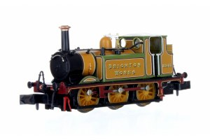 Dapol N 2S-012-015 Terrier A1X 32635  Brighton Works Improved Engine Green