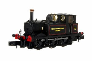 Dapol N 2S-012-016 Terrier A1X No.72  Newhaven Harbour Company Lined Black