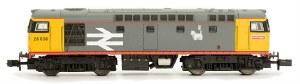 Dapol N 2D-028-004 Class 26 26037 BR Railfreight Grey
