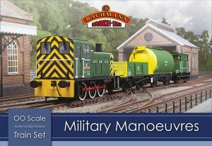 Bachmann OO 30-130 Military Manoeuvres Train Set
