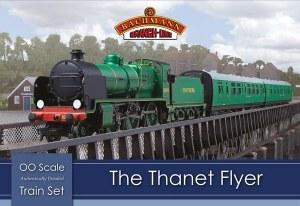 Bachmann OO 30-165 The Thanet Flyer Train Set