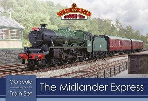"Bachmann OO 30-285 ""The Midlander"" Express Train Set"