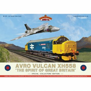 Bachmann OO 30-375 Avro Vulcan XH558 Collectors Pack